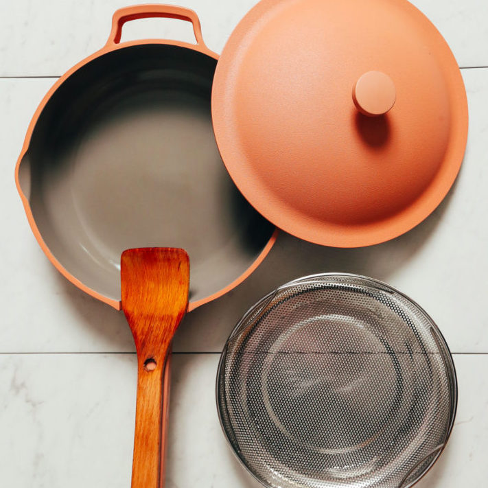 Always Pan in spice color for a holiday gift