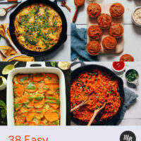 Assortment of easy sweet potato recipes