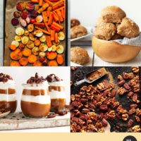 Assortment of Thanksgiving recipes