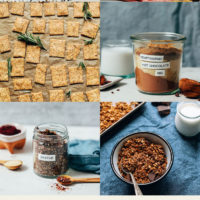 Spice mixes, cookies, crackers, and granola for our easy giftable recipes round-up