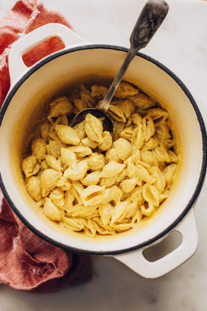 20-Minute Mac and Cheese (Vegan)