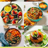 High fiber recipes for including breakfast, lunch, desserts, and more