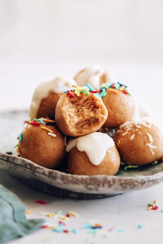 No-Bake Sugar Cookie Bites