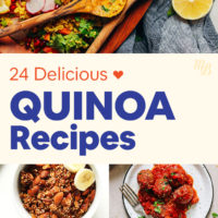 24 delicious, vegan & gluten-free quinoa recipes