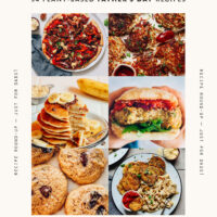Assortment of Father's Day brunch recipe ideas
