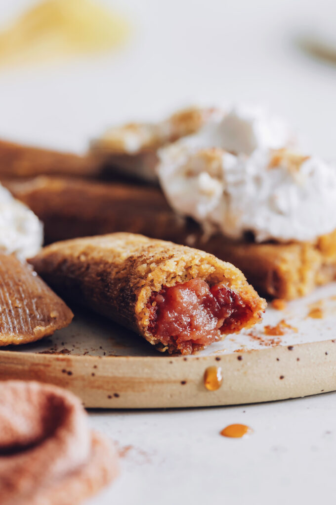 Apple Butter Dessert Tamales