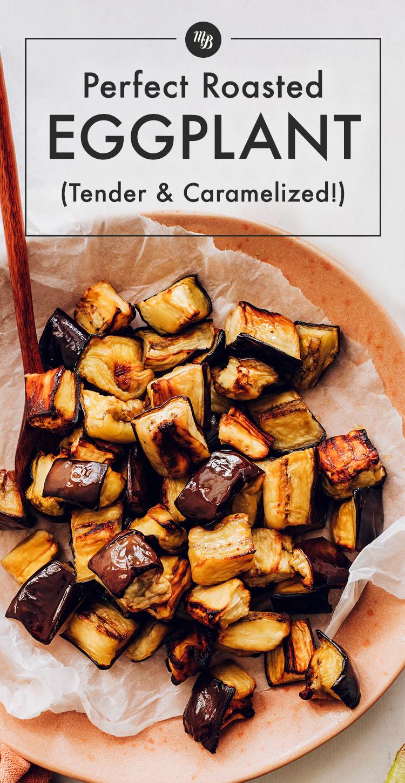 Mükemmel közlenmiş patlıcan tabağı