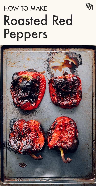 Közlenmiş kırmızı biber sac tava